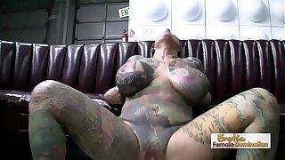Exotic Tattooed MILF Having Hardcore Sex