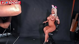 LETSDOEIT - Easter Bunny German Petite Tricked Into Sex At Casting