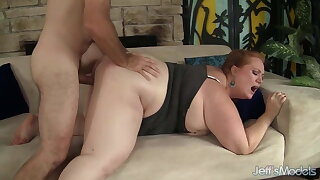 Jeffs Models - Ginger BBW Julie Ann More Doggystyle Compilation 1
