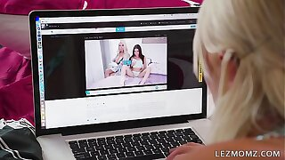 MOMMY'S GIRL - Mom, You're a hot MILF! - Kenna James and London River
