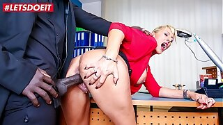LETSDOEIT - German Boss MILF Lana Vegas Takes Deep BBC From Her Feature Employee