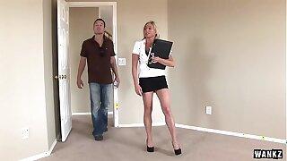 WANKZ- Big Titty MILF Payton Hall Reamed Until She Can Barely Walk