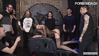 FORBONDAGE - Xtreme BDSM Fetish Fuck For Big Tits Brunette MILF Tina Kay