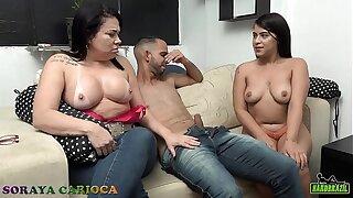 Teste do sofá da Soraya Carioca com Natalia Prado a novata - Evy Kethlyn - Mila Spook - Felipe Dias - Kidbengala - Natália Prado