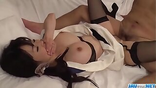Spicy Yui Satonaka gets cock in each of her holes  - More at javhd.net