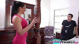 Sneaky Aunt Sexts, Sucks & Fucks - Sheena Ryder -