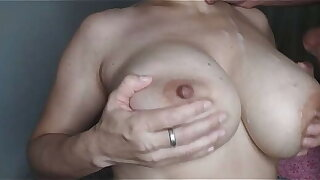 Horny mom wanted to fuck her tits by son real homemade stepmom