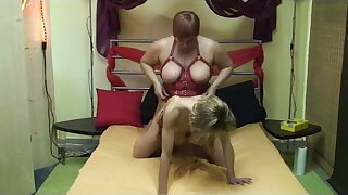 Annadevot - Riding Strapon Fuck ...