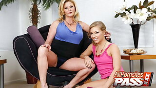 Softcore Tease With Ginger Lynn and Ally Kay