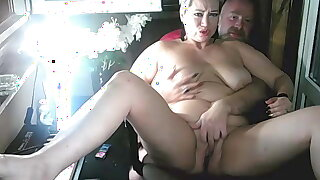 I spread the legs of my bitch, showing her lustful hole!
