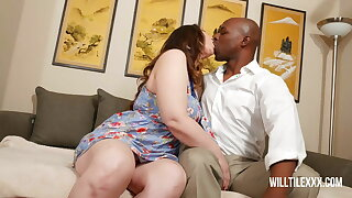 Thicc wife Violette Blakk gets dicked down by big dick neigh