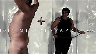 Dominatrix Mistress April - Psycho torture room