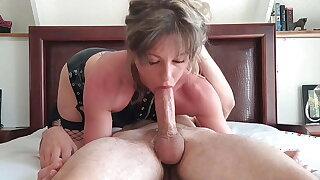 Deepthroating Like A Champ, She Gags On A Fat Cock – Anati